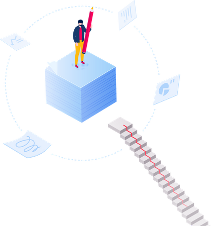 Daily tasks Illustration