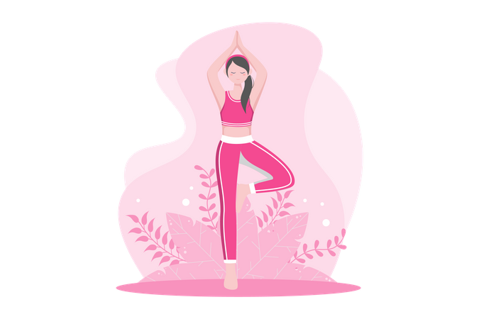 Daily workout Illustration