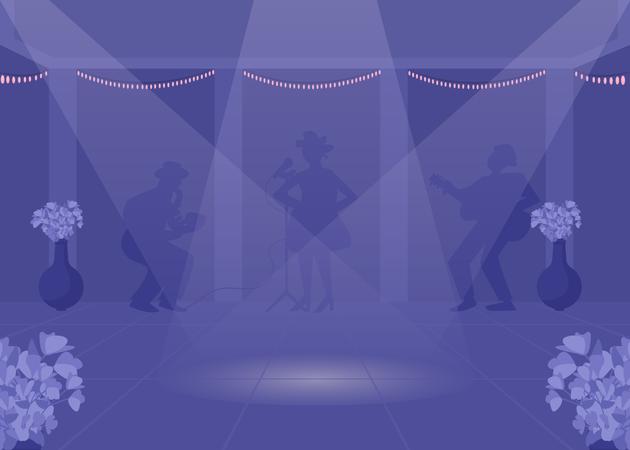 Dancefloor Illustration