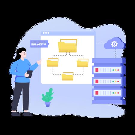 Data Architecture Illustration