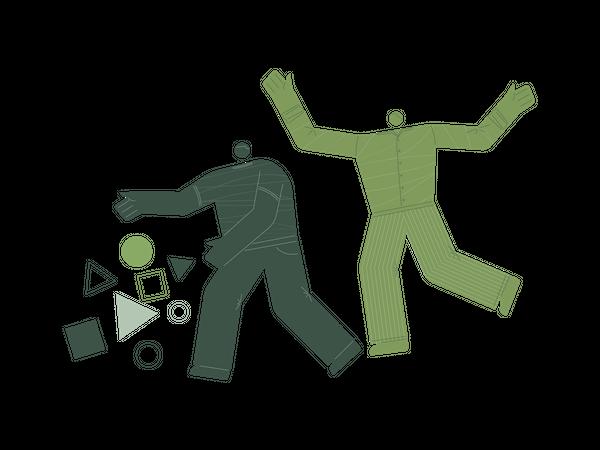 Data gathering Illustration