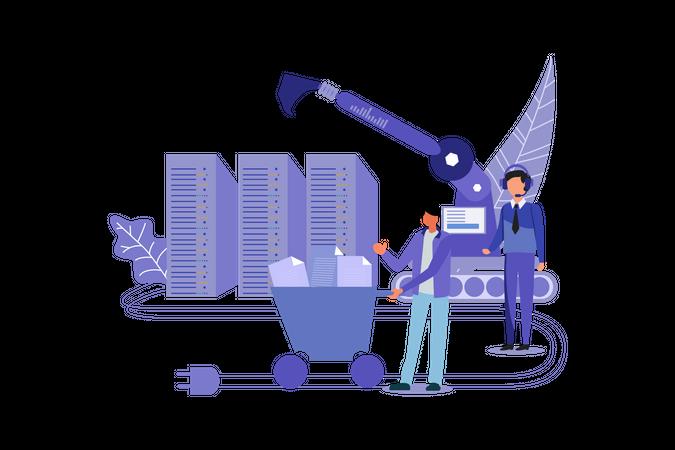 Data Mining Marketing Illustration