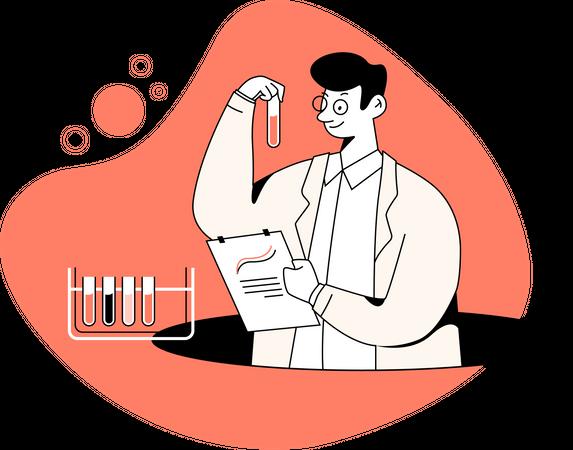 Data scientist Illustration