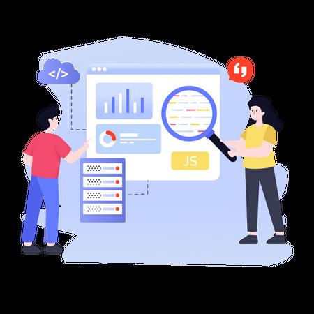 Database Management Illustration