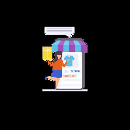 Deals and Discounts Illustration