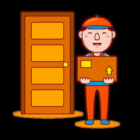 Delivery man Illustration