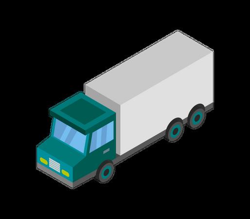 Delivery Truck Illustration
