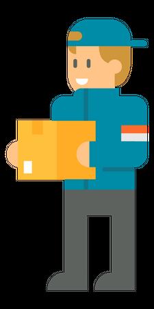Deliveryman Illustration