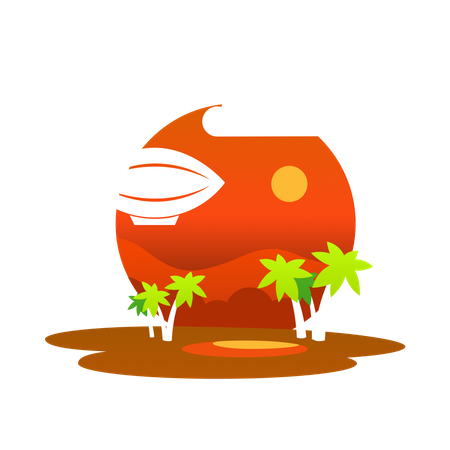 Desert Illustration