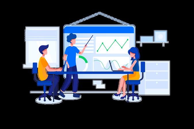 Digital product manager Illustration