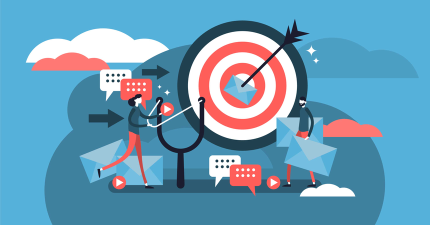 Direct marketing Illustration