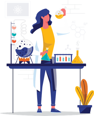 Discover new things Illustration