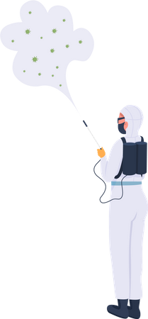 Disinfector Illustration