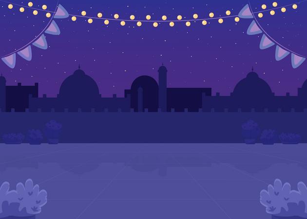 Diwali decoration Illustration