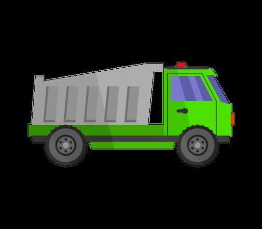 Dumper Truck Illustration
