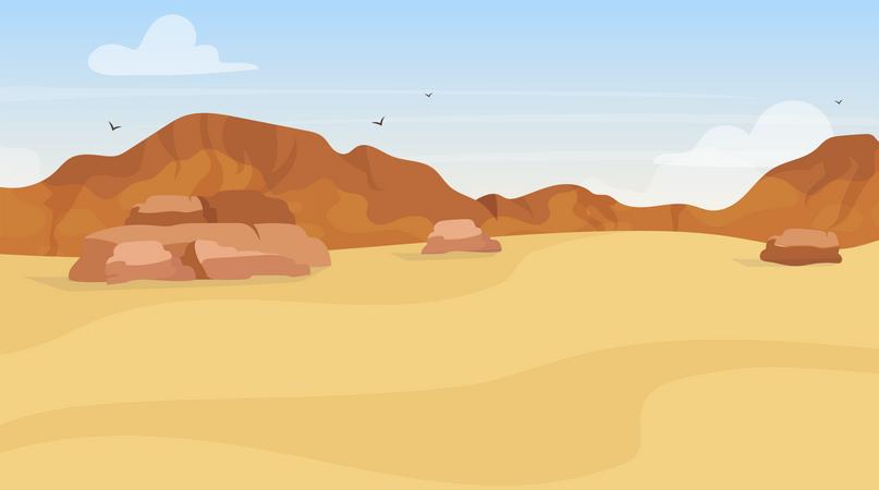 Dunes Illustration