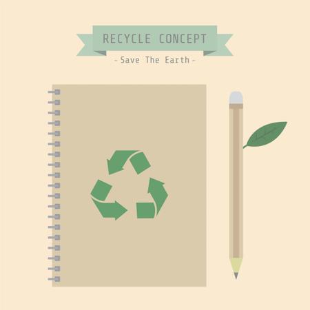 Eco Book Illustration
