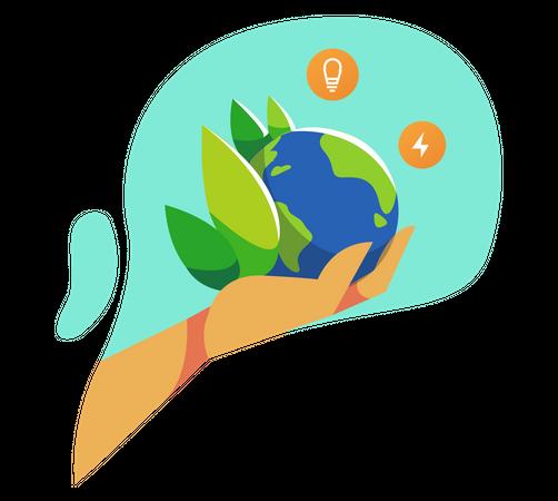 Eco system Illustration