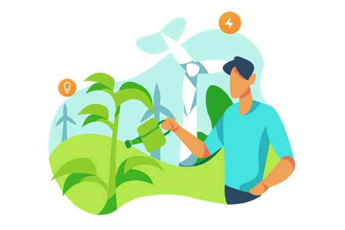 Ecology Illustration