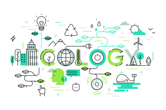 Ecology and environment Illustration