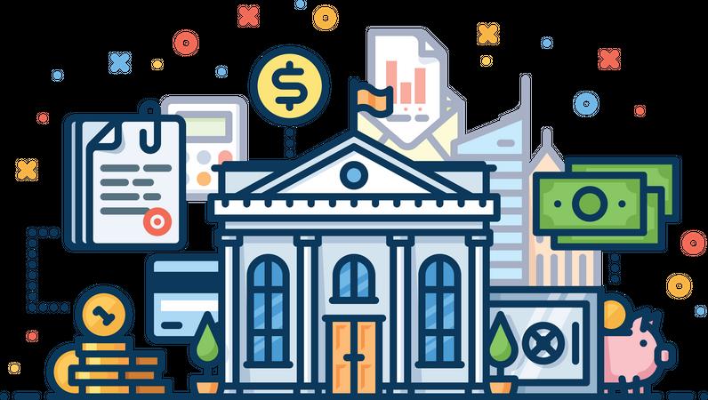 Economy Illustration