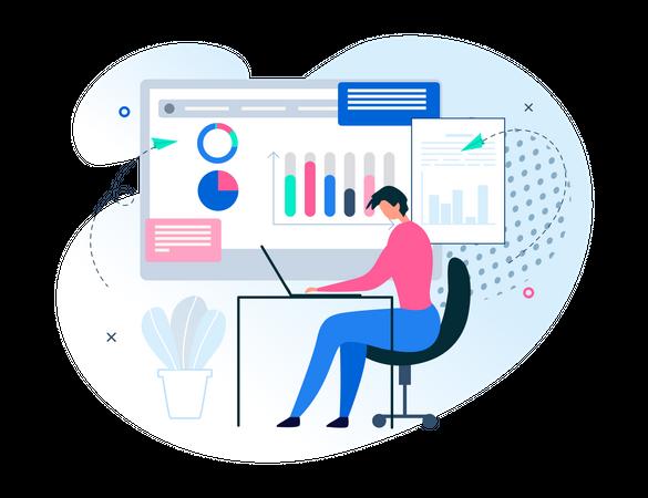 Effective Data Analysis App Illustration