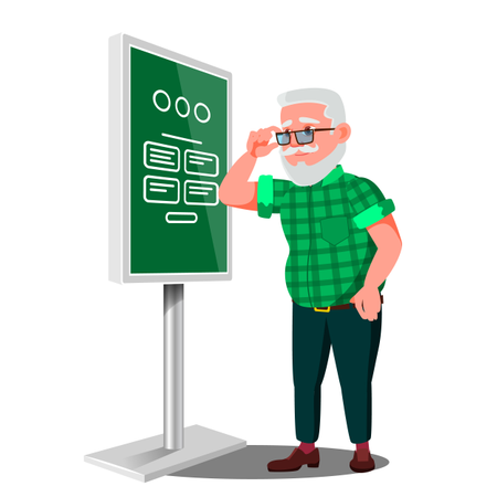 Electronic Self Service Payment System Illustration