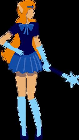 Elf costume Illustration