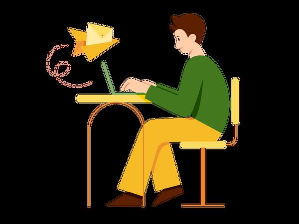 Email Marketing Illustration
