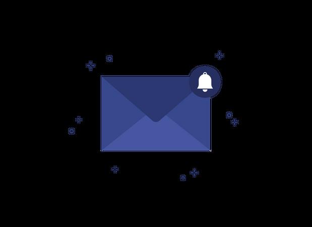 Email Notification Illustration