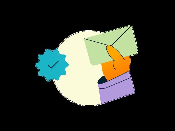 Email Verification Illustration