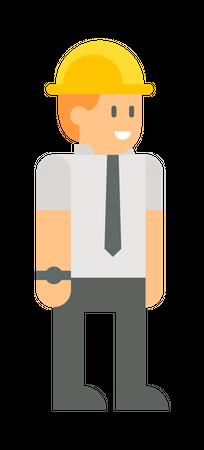 Employee Illustration