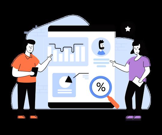 Employee Performance Assessment Illustration