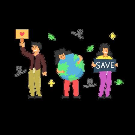 Environmentalism Illustration