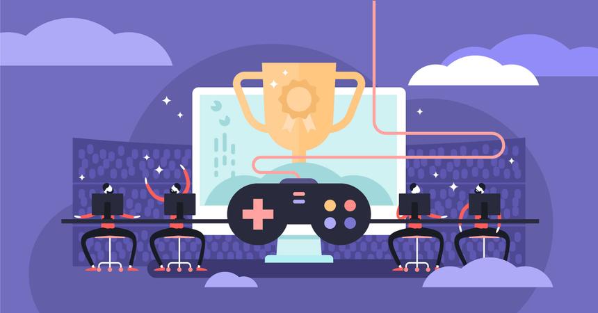 Esports Illustration