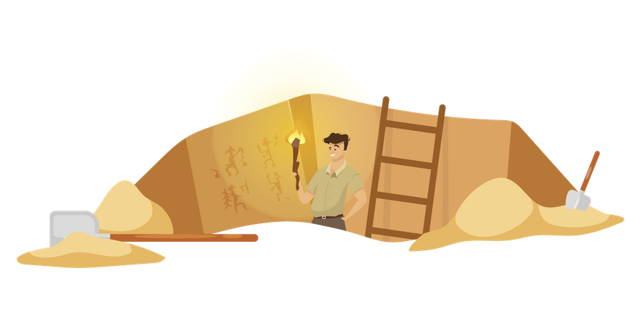 Excavation Illustration