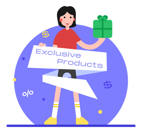 Exclusive Product Illustration