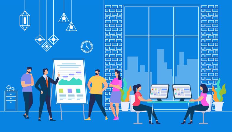 Explain New business Strategy Illustration