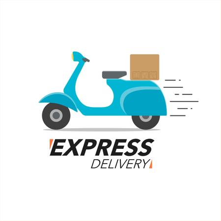 Express Delivery Service. Illustration