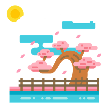 Fall season Illustration