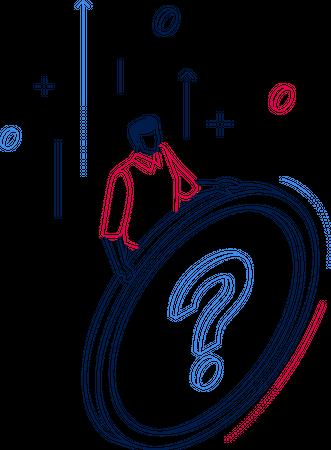 FAQ section Illustration