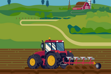 Farming And Agriculture Illustration Pack