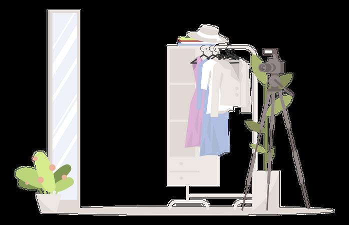 Fashion blog Illustration