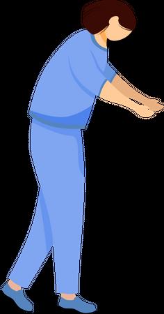 Female doctor Illustration