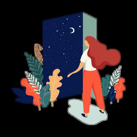 Feminine Illustration