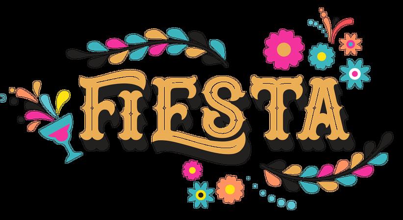 Fiesta Illustration