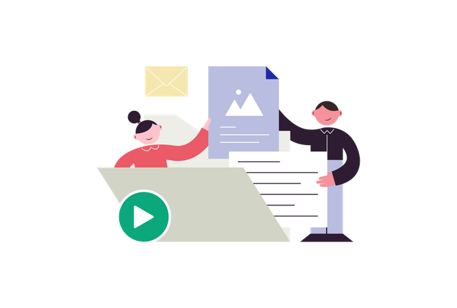 File Management Illustration