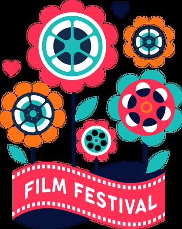 Film festival Illustration