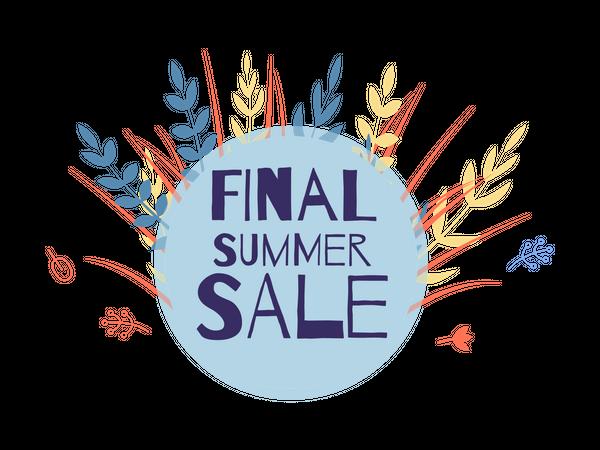 Final Summer Sale Illustration
