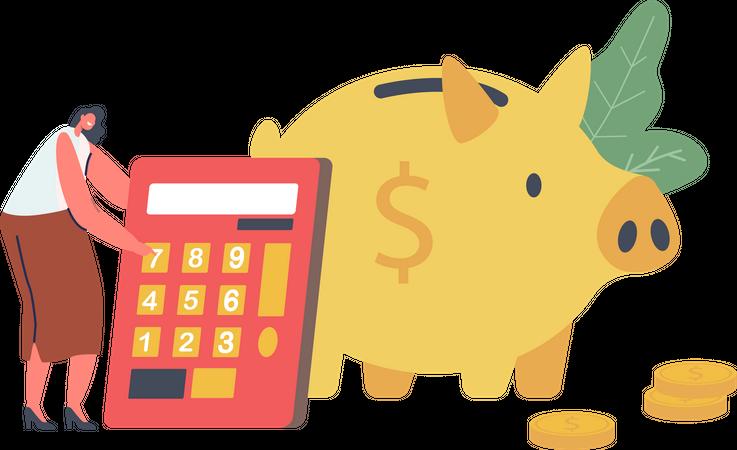 Finance Budget Planning Illustration